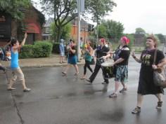 Hamilton's radical drumming group