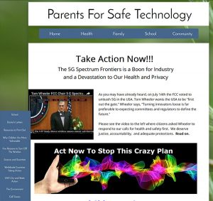 Our friends at parentsforsafetechnology.org have put together an action page for writing, calling and emailing Congress, the FCC and others.