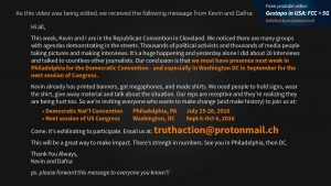 View Kevin Mottus' call-to-action, and join him to make change on the ground.