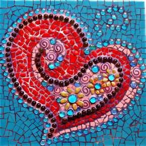 Bodacious Heart square Mosaic