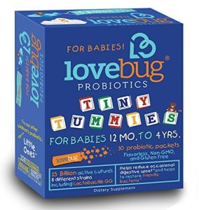 LoveBug Tiny Tummies Probiotics