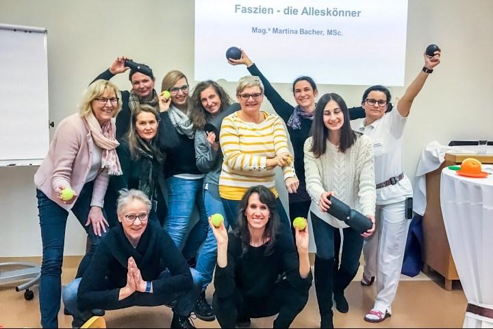 Faszien-Vortrag als BGF-Projekt in der Privatklinik der Kreuzschwestern, Graz
