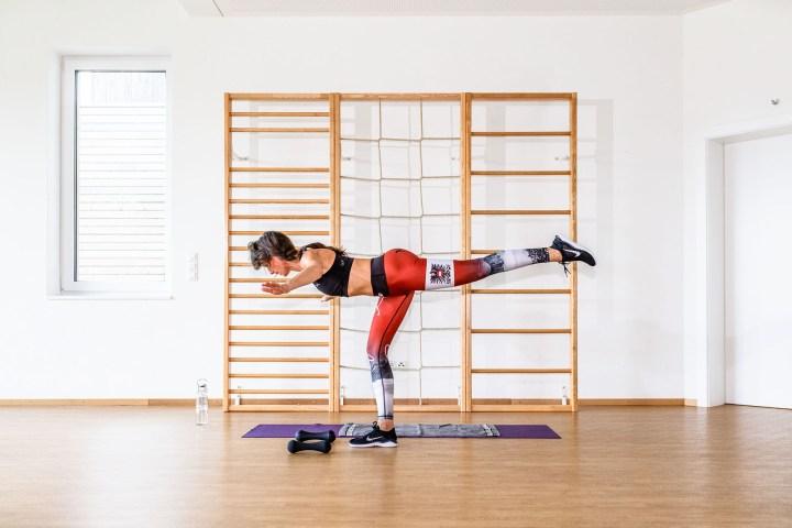 Alles in Balance?! Die Standwaage, eine meiner Lieblings-Fitness-Übungen