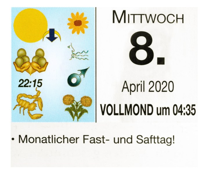 #4 Vollmond-Fastentag