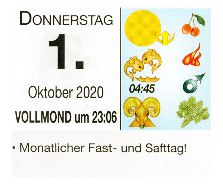 #10 Vollmond-Fastentag