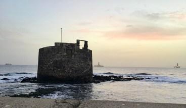 San Cristobal, Gran Canaria am Abend.