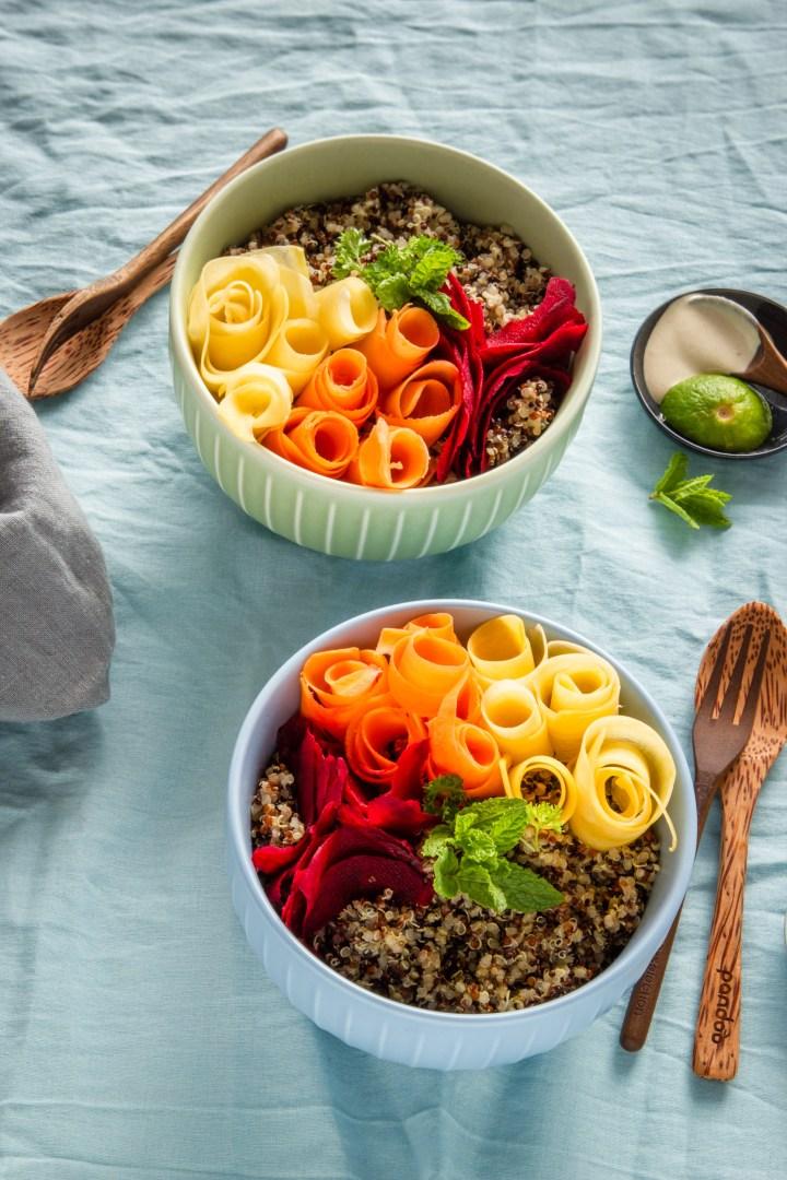 Quinoa-Bowl für deinen bunten Frühling