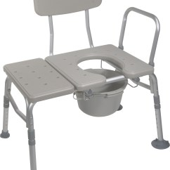Drive Shower Chair Without Back Kermit Review Combination Transfer Bench Commode  Take Care Mobility