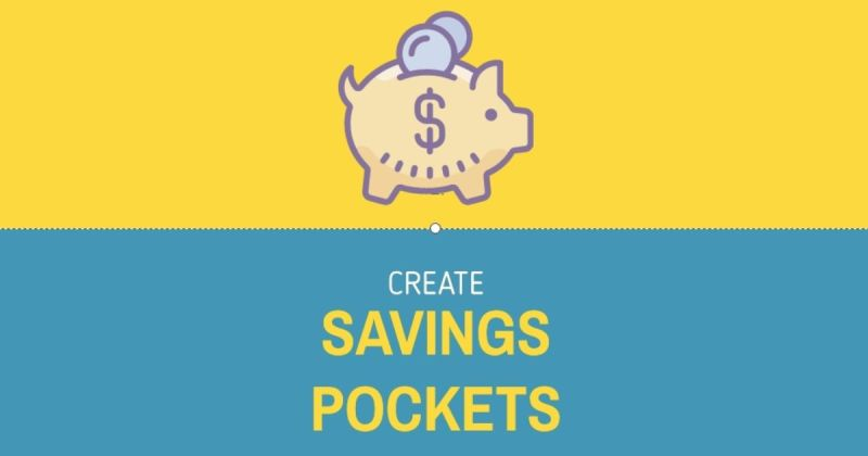 Create Savings Pockets
