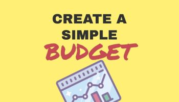Create a simple budget