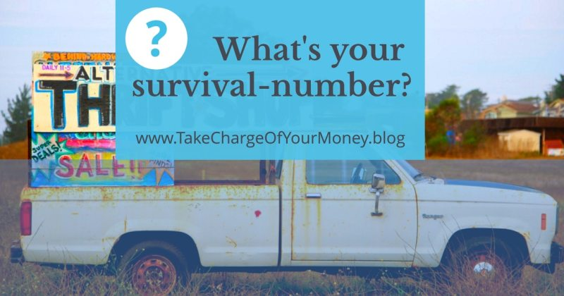 What's your survival number?