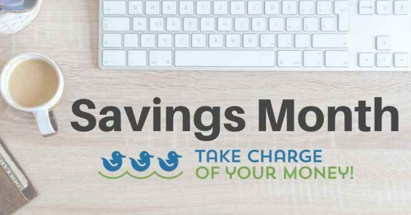 National Savings Month