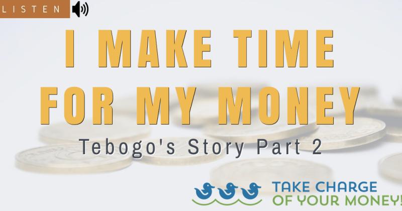 I make time for my money