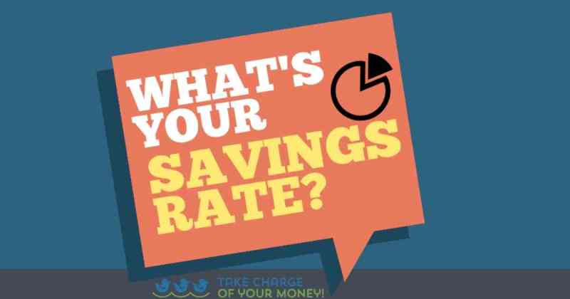 What is your savings rate