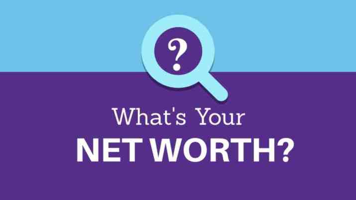 Whats your net worth