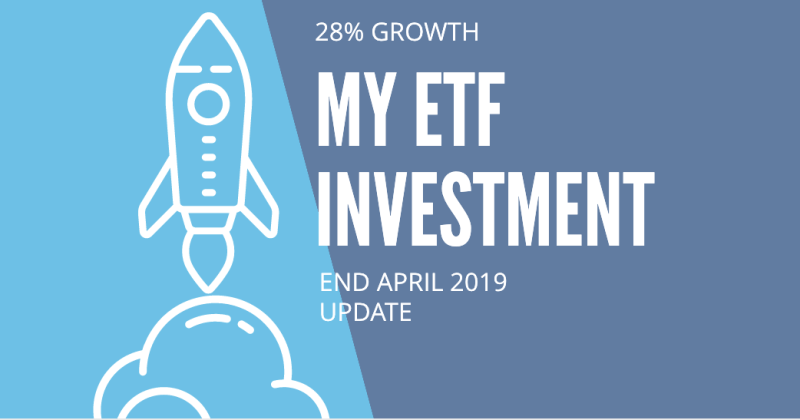 April update of my ETF Investments with EasyEquities