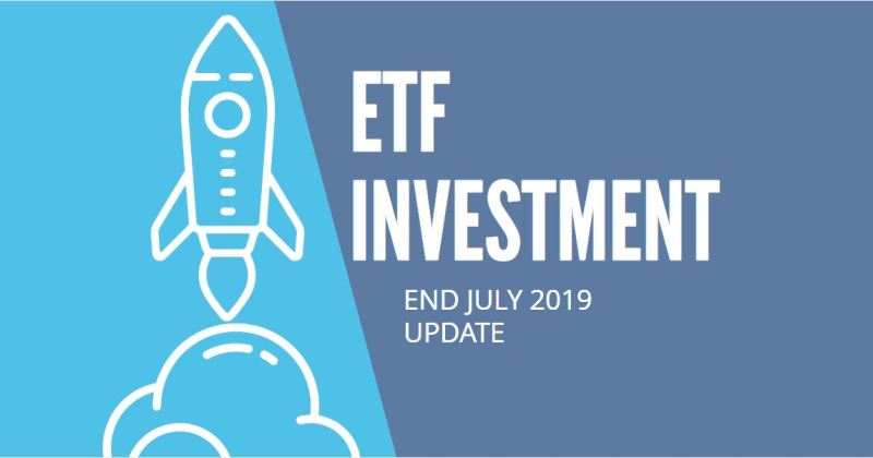EasyEquities ETF Investment - July 2019 update