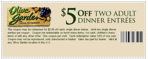 Olive garden coupons printable code for restaurant lunch  September 2018  takecouponcom