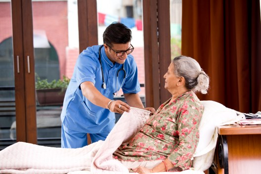 Home care for the elderly in their own homes