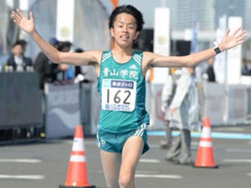 東京マラソン2017!下田裕太【青...