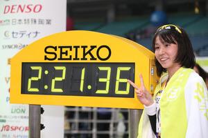 安藤友香(スズキ)の走り方が忍者!?初マラソン日本最高記録って本当!?