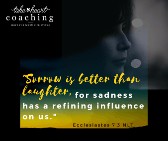 Ecc 7:33 Sorrow is better than laughter,