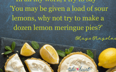 What interesting thing are you going to do with your lemons?