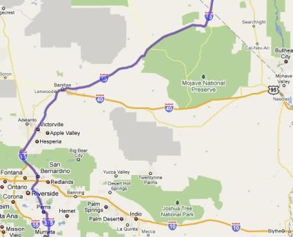 ラスベガス_地図