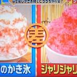 【この差って何ですか?】家庭でフワフワのかき氷!作り方は氷を溶かすだけ?レシピ放送内容まとめ