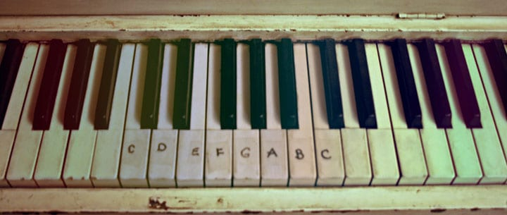 can labeling your piano