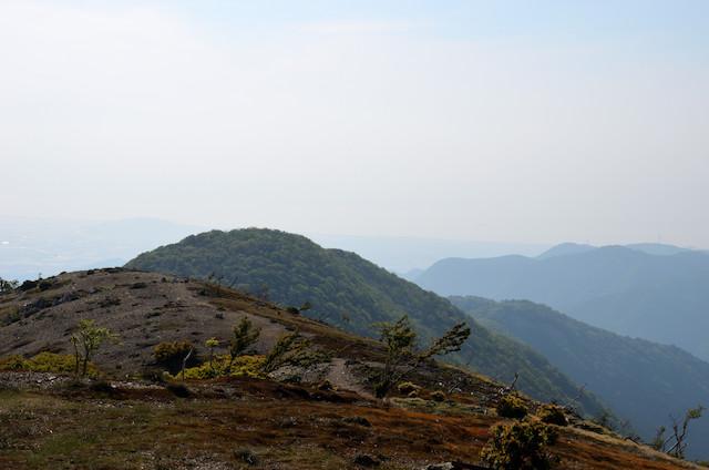 鈴北岳 琵琶湖方面