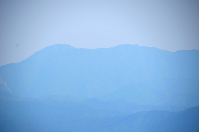 奥の平 御在所岳方面