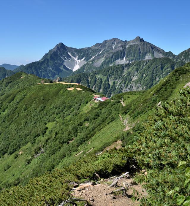 表銀座縦走コース ビックリ平〜ヒュッテ西岳