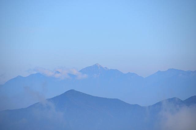 御嶽山 登山 甲斐駒ヶ岳