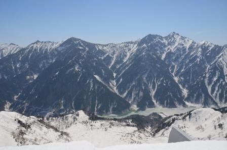 大観峰 立山黒部アルペンルート