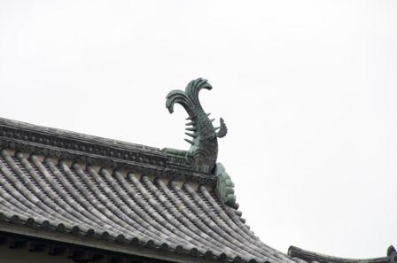 松江城 シャチホコ