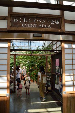掛川花鳥園 イベントエリア