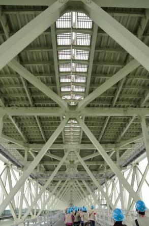 明石海峡大橋 ブリッジワールド 遠景