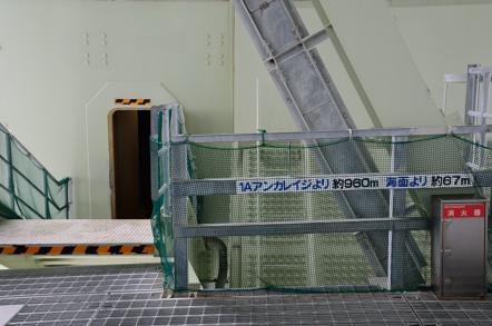 明石海峡大橋 ブリッジワールド エレベーター