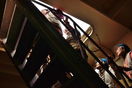 明石海峡大橋 ブリッジワールド 98階の階段