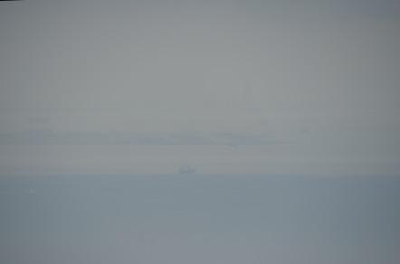 明石海峡大橋から神戸空港
