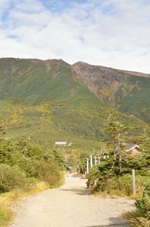 御嶽山 大滝口