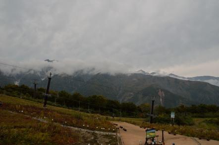 白馬五竜スキー場 アルプス平駅