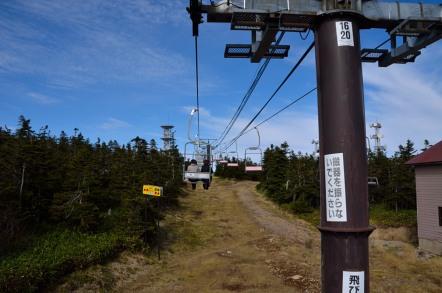 志賀高原 横手山 スカイリフト