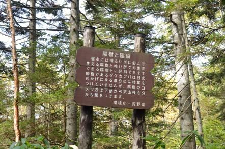 志賀高原 池めぐり 環境省 看板