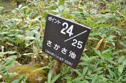 志賀高原 池めぐり 逆池