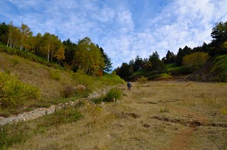 志賀高原 池めぐり 前山ゲレンデ