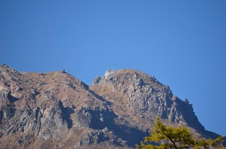焼岳 山頂