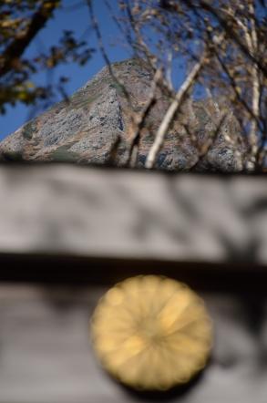 上高地 穂高神社 奥宮 鳥居