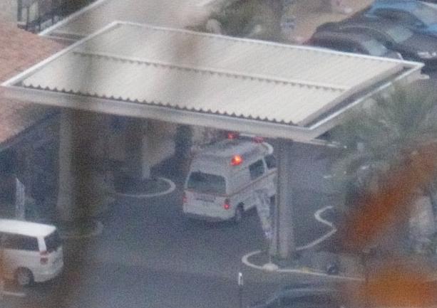 湯の華アイランド 救急車